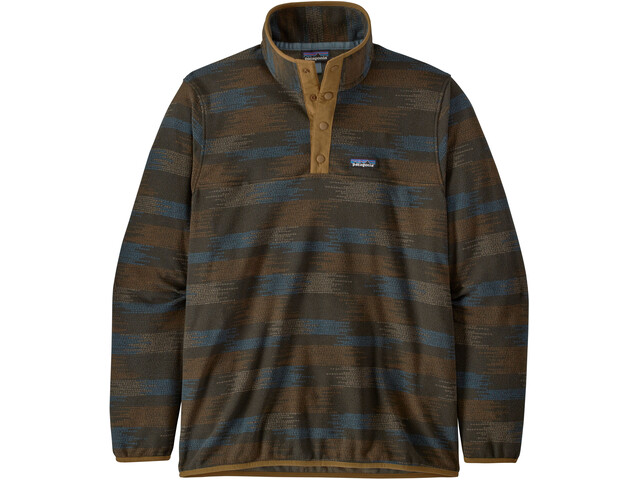 Patagonia Micro D Snap-T Pullover Hombre, verde
